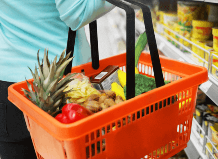 shopping baskets uk