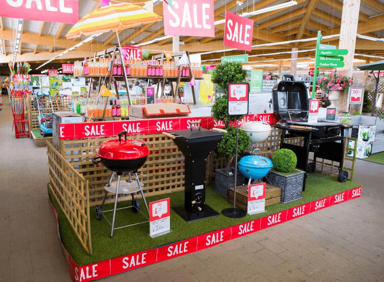 Seasonal point of sale display