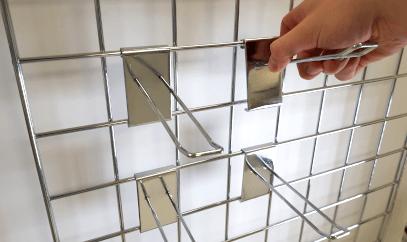 Wire grid merchandising